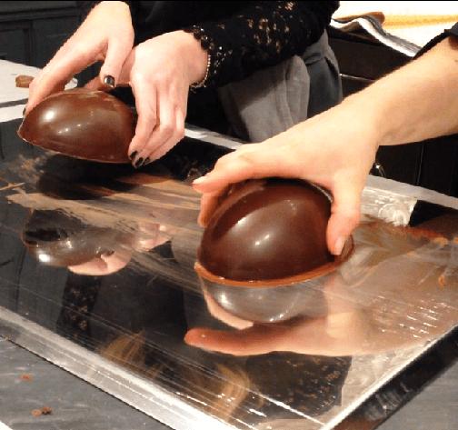les marquis de ladurée oeuf en chocolat pâques