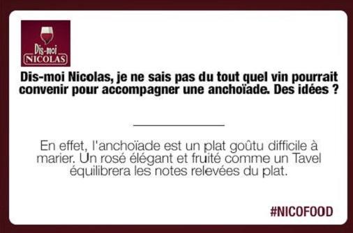 nicolas caviste conseil twitter nicofood