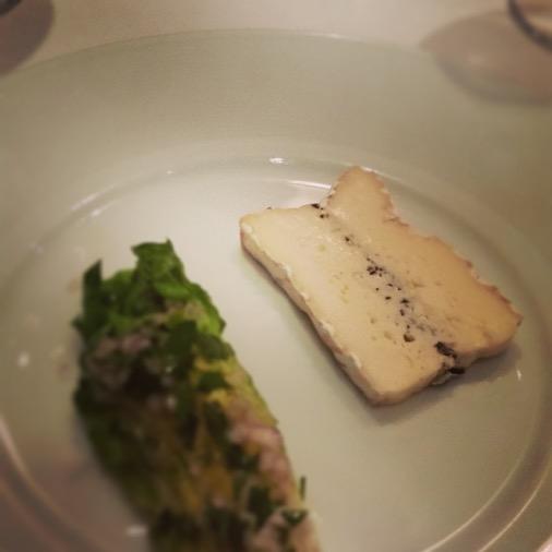 restaurant gastronomie fromage brie truffé jeremie