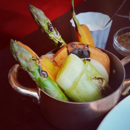 restaurant unico argentin paris accompagnement légumes