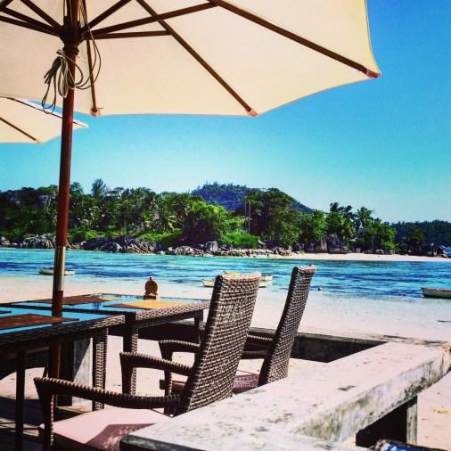 terrasse restaurant del place mahé
