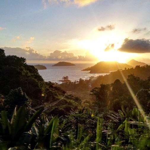 coucher de soleil seychelles voyages de noces