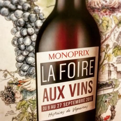 foire aux vins monoprix 2015
