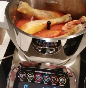 test seb companion recette cuiseur