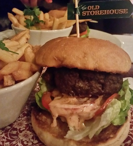The old store house pub dublin burger