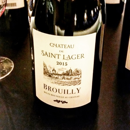 chateau de saint lager 2015 brouilly