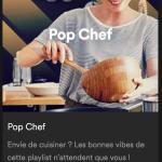 Cuisinez en Musique avec Spotify ! Et plus si affinités…