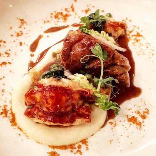 homard ris de veau diner à la mère brazier mathieu viannay lyon