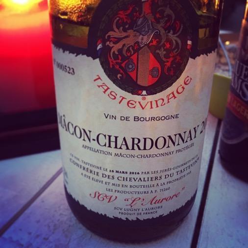 Tastevinage macon chardonnay Foire aux vins Franprix