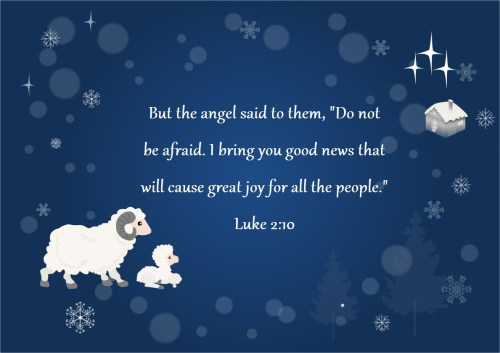 Medium Of Christmas Bible Verses For Cards