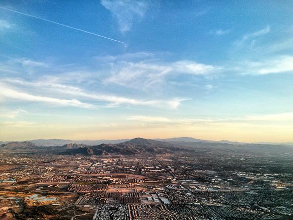 Visual Serendipity Las Vegas Aerial View