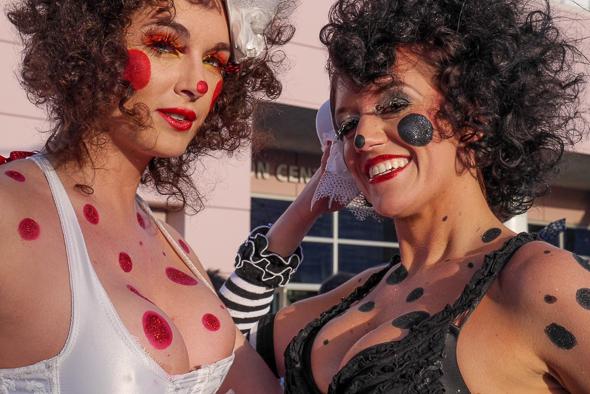 Cirque du Soleil Las Vegas show acrobats