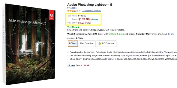 Amazon.com_ Adobe Photoshop Lightroom 5 - Mac [Download]_ Software
