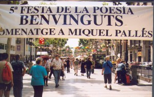 QUINTA (homenaje a Miquel Pallés florista de la rambla)