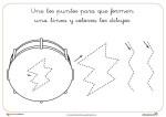 Recursos Didácticos: Fichas de Grafomotricidad