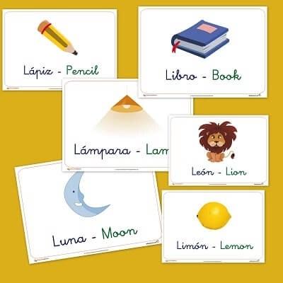 Vocabulario Letra L