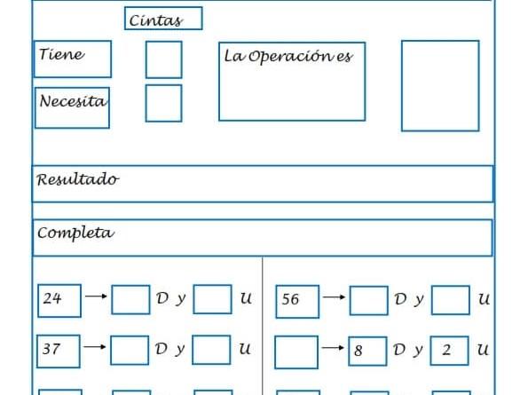 Fichas de matemáticas, Fichas primaria, Sumas, Restas, Números, recursos para el aula