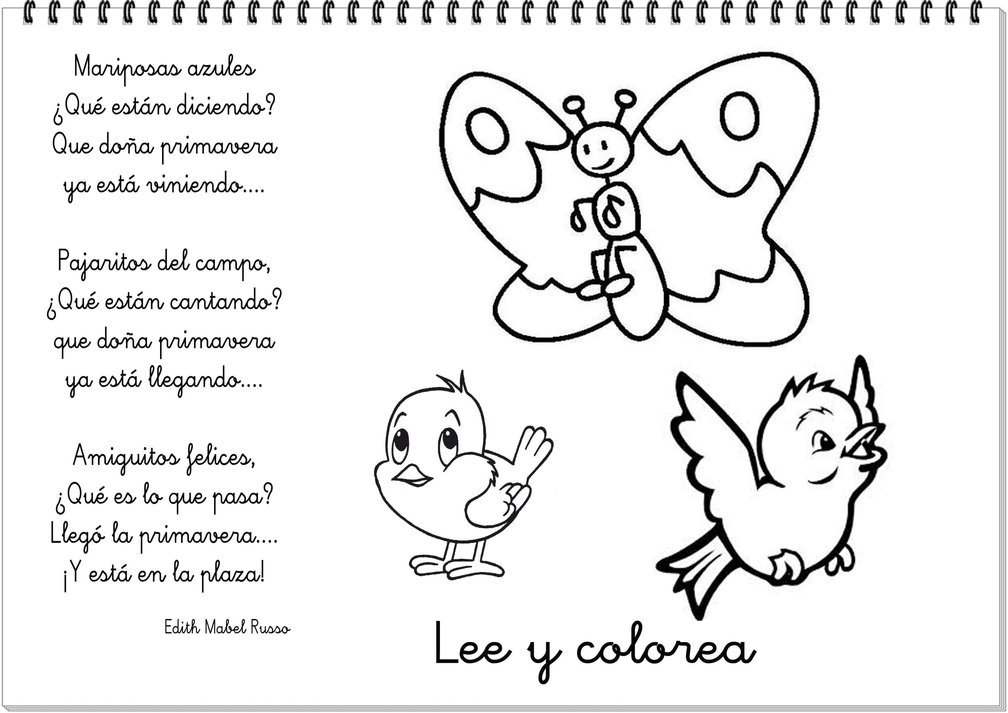 Poema de primavera 9 - El Portal de Educapeques
