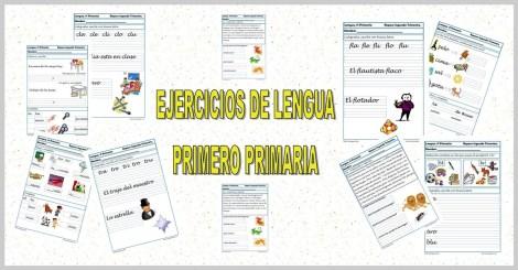 Fichas de Lengua Primero Primaria