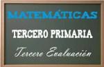 Matemáticas Tercero Primaria 3