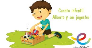 Cuento infantil corto: Alberto y sus juguetes