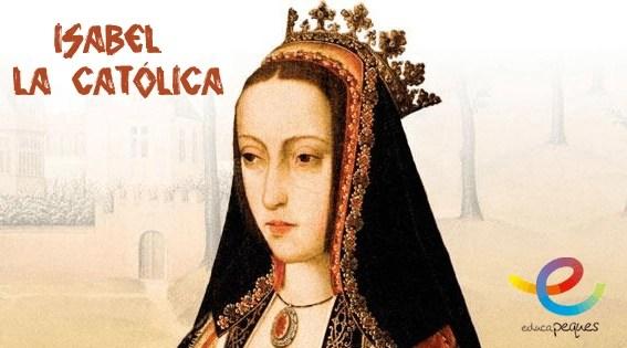 Isabel la católica, reina de Castilla. Grandes personajes de la humanidad
