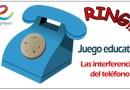 Actividades educativas para niños: Las interferencias del teléfono