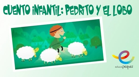 Pedrito y el lobo, cuento infantil, cuento clásico, cuento para niños, cuentos clásicos