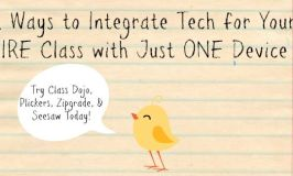 Four Ways to Integrate Tech for Your ENTIRE Class with Just ONE Device