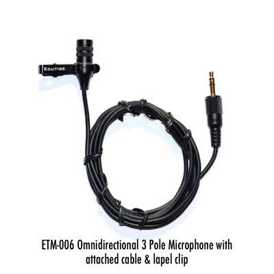 ETM-001 External Microphone for GoPro Hero4 or DSLR