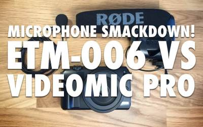 Tested: Edutige ETM-006 vs Rode Videomic Pro [VIDEO]