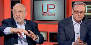 ED CONARD DEBATES JOE STIGLITZ ON MSNBC'S UP WITH CHRIS HAYES