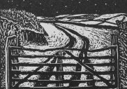 Mariners Way VI, 2013, wood engraving on Zerkall paper, number one of an edition of twenty, 5.3 x 6 cm