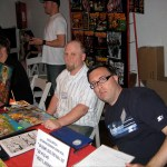 Ryan Dunlavey and Fred Van Lente of Evil Twin Comics, courtesy of Jamie Tanner's flickr