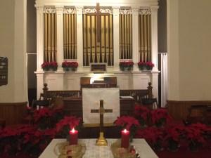 Christmas Eve 2015 Sanctuary