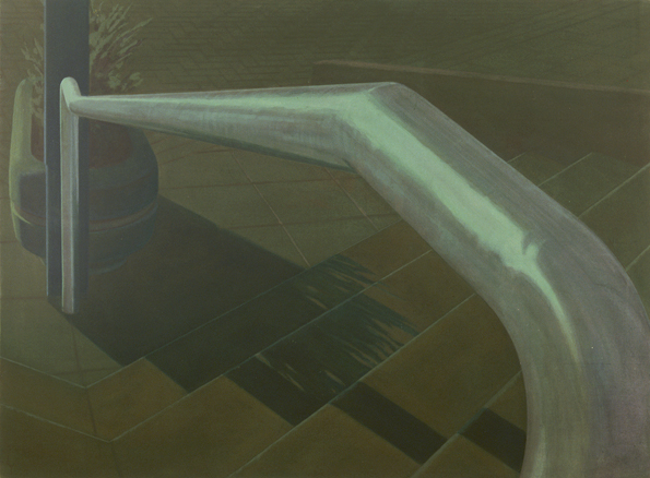 Tube, 2007, acrylic on canvas, 120x180 cm