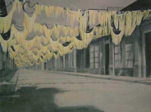 After the Celebration 4, 2004, acrylic on canvas, 140x190 cm