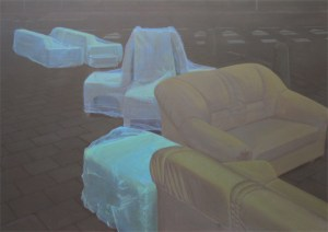The living, 2007, acrylic on canvas, 200x150 cm