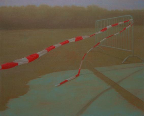 Wave, 2009, acrylic on canvas, 145x180 cm