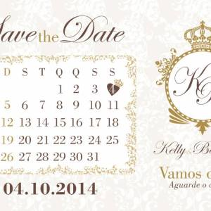 Save the Date Kelly & Bernardo