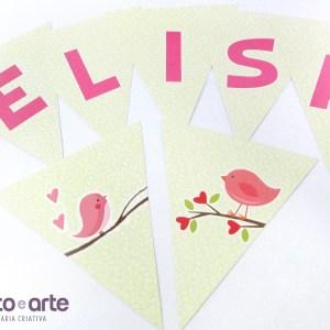 Bandeirolas | Chá da Elisa