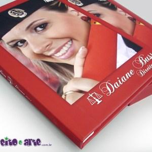 Livro de fotos com capa dura e caixa | Direito