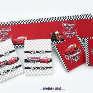 Rótulos mini refrigerante, Bis e Baton | Carros