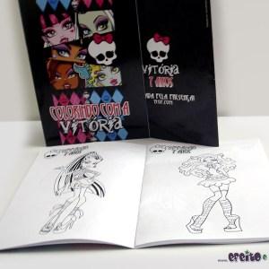 Livrinho de colorir 14x20cm | Monster High