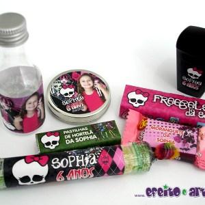 Rótulos diversos | Monster High