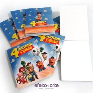 Bloquinho | Toy Story