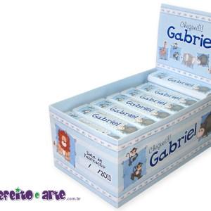 Chocolate Refeição | Lembrança nascimento Gabriel