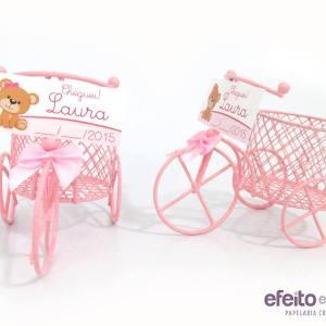 Bicicleta aramada | Lembrança nascimento Laura
