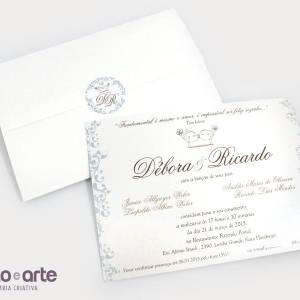 Convite Liverpool | Débora & Ricardo