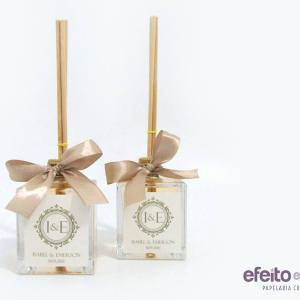 Aromatizador de ambientes 100ml frasco de vidro